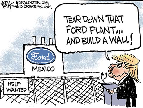 ford plant in mexico