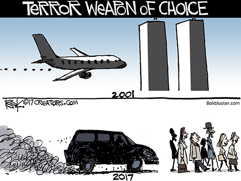 weapon of choice for terrorists