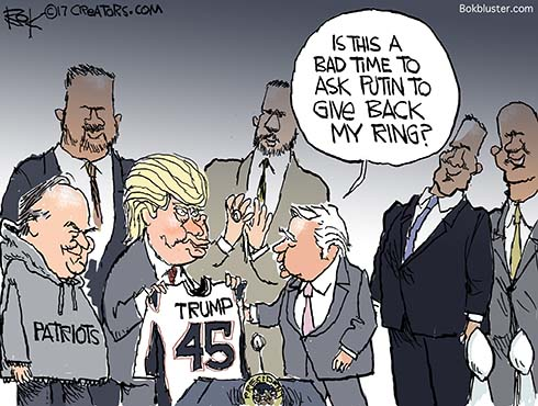 Putin's Super Bowl Ring