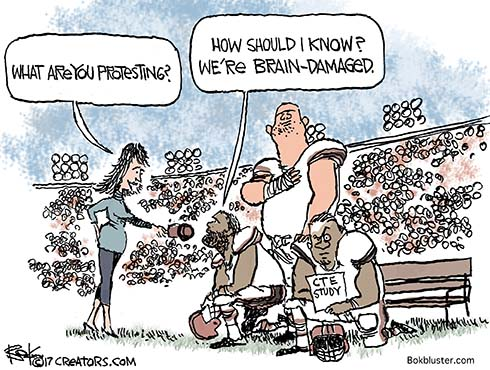 Image result for education and the NFL cartoons