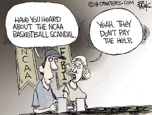 real NCAA basketball scandal