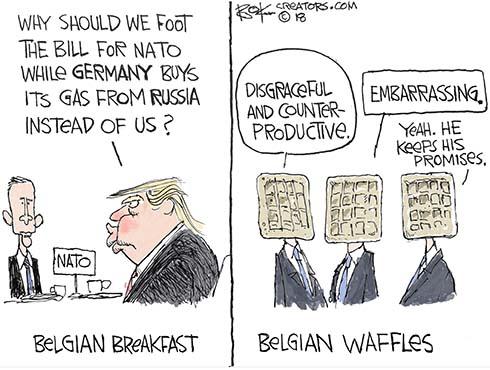 brussels breakfast Belgian waffles