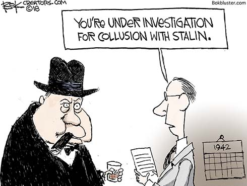 Churchill, collusion, Stalin