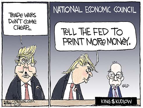 National Economic Council, Kudlow, Dollar, Trade War, Fed