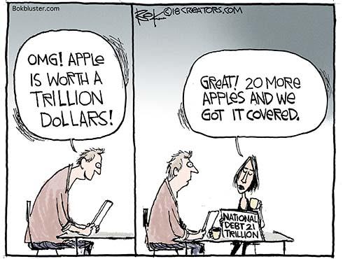 trillion dollar apple