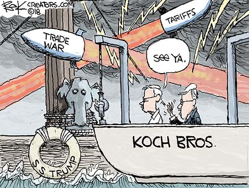 Koch Brothers Abandon Trump