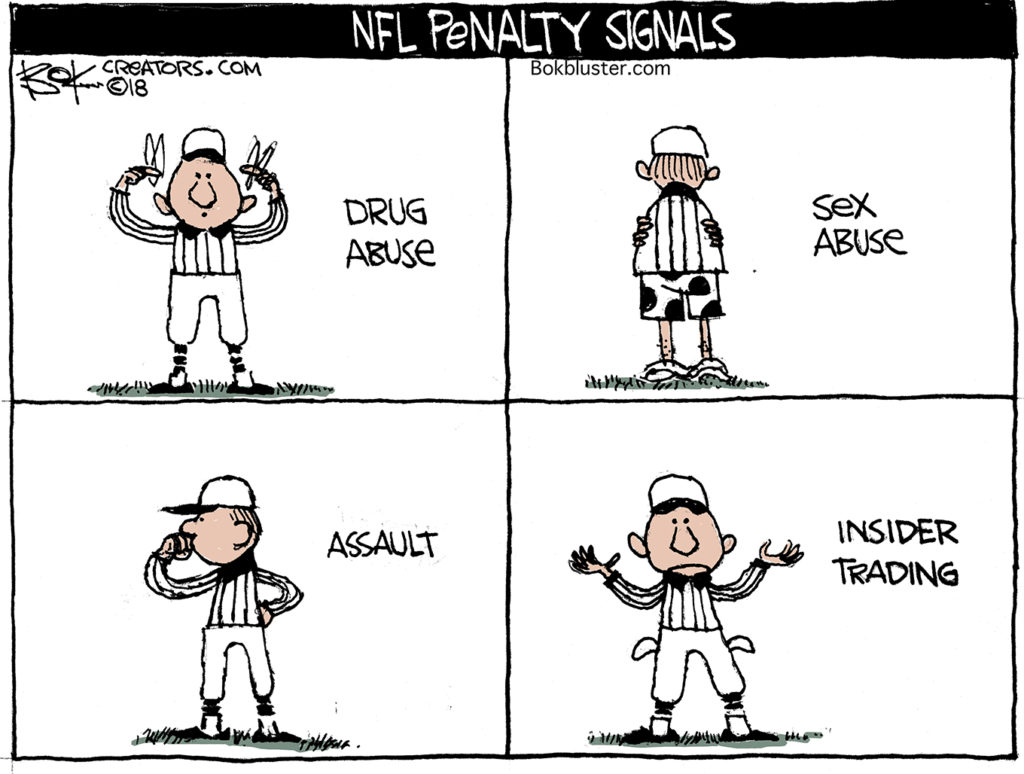 NFL white collar crime