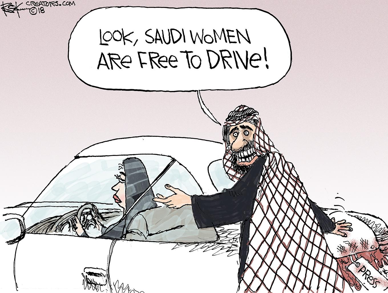 Saudis, Kashoggi