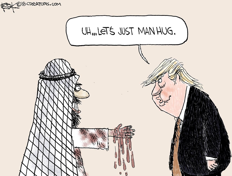 saudi, trump
