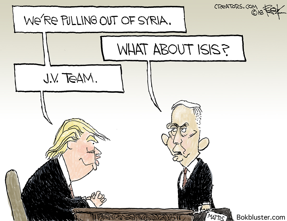 Syria pullout, mattis, isis