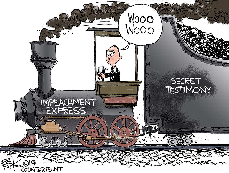impeachment express, adam schiff