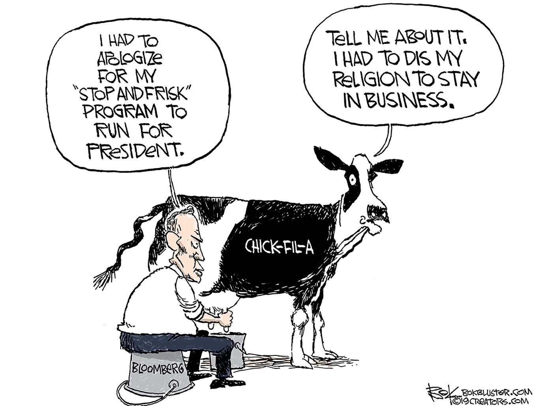 Bloomberg, chick-fil-a, social justice warriors, cancel culture