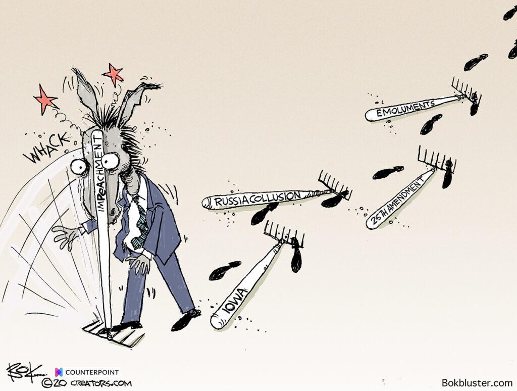 Democrat, Rake, president, impeachment, iowa, russia collusion, 25th amendment, emoluments