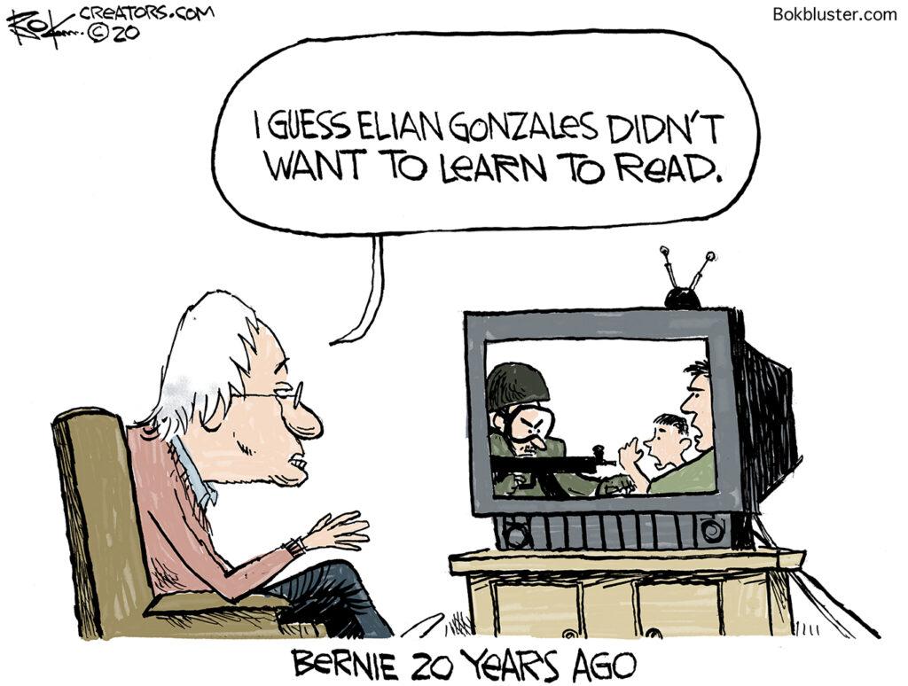 Elian Gonzales, Fidel Castro, Bernie sanders, literacy, escape from cuba, read