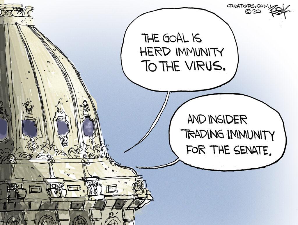 senate, virus, trading, immunity