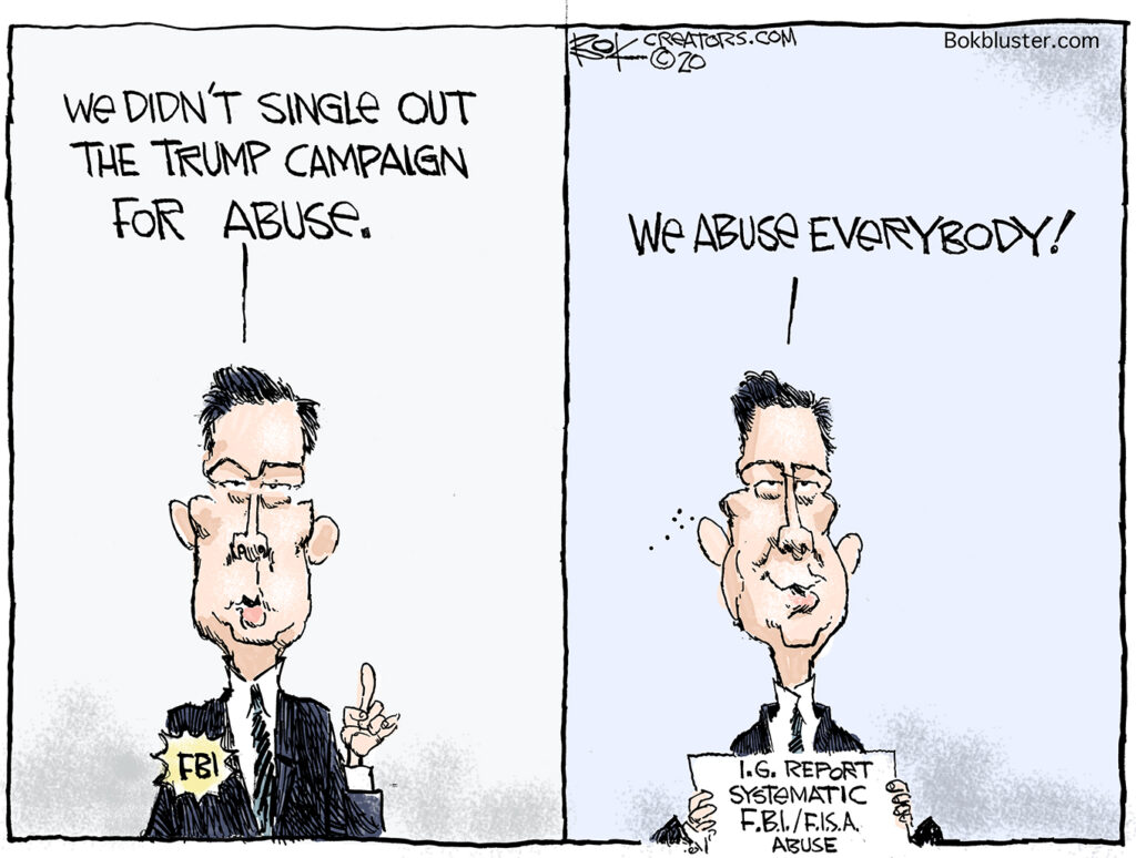 FBI abuse, Trump campaign