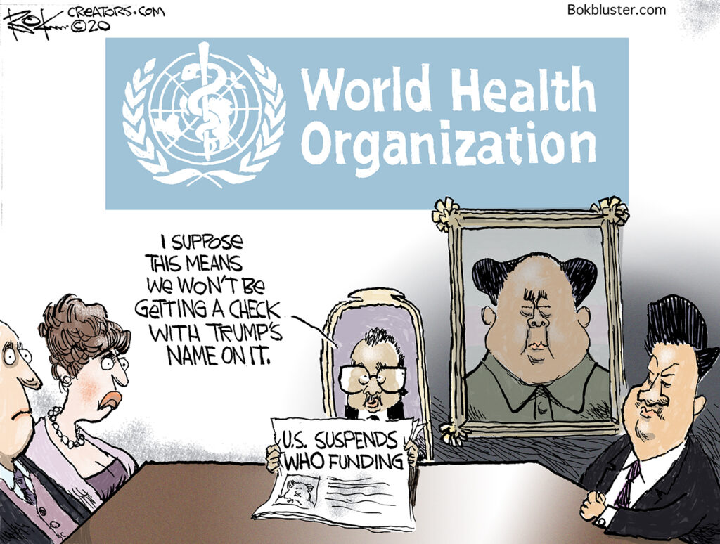 world health organization, china, relationship, parrot to pirate