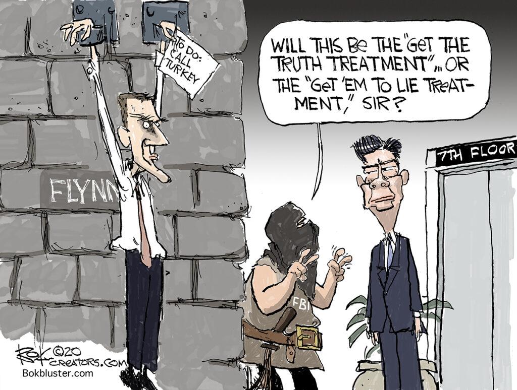 FBI goal, get truth, get him to lie