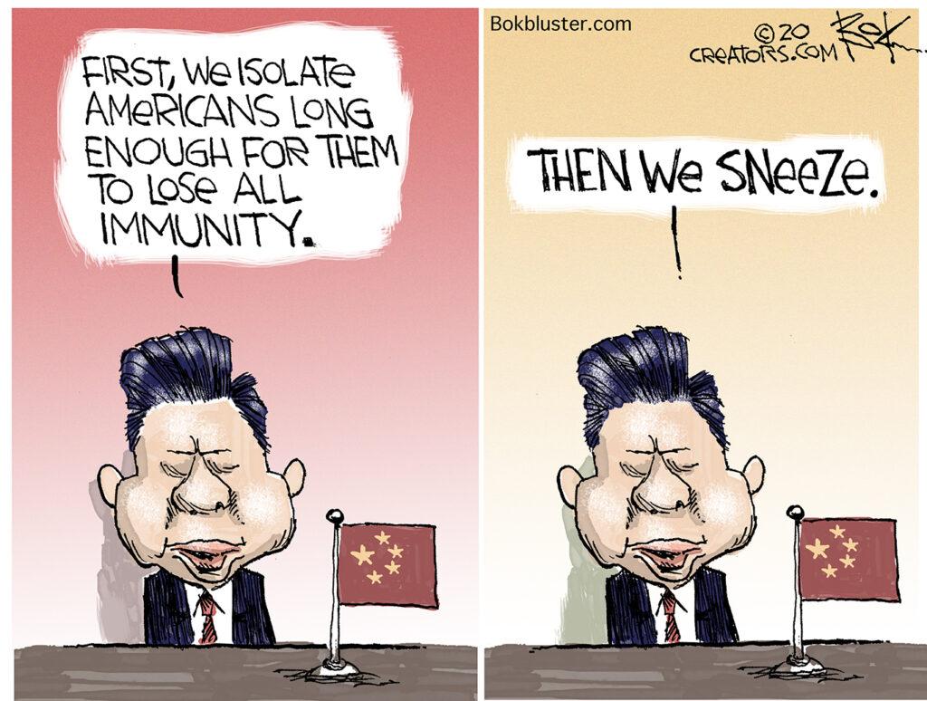 Germs, immunity, China