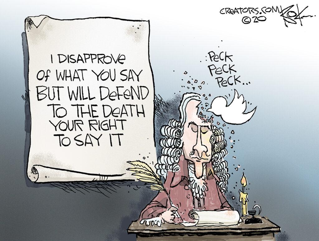 Twitter, pecker, social media, Trump