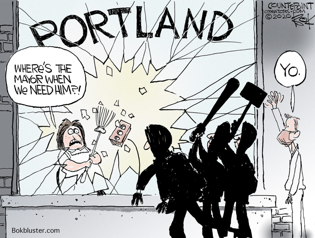 Counterpoint, Portland, Mayor Ted Wheeler
