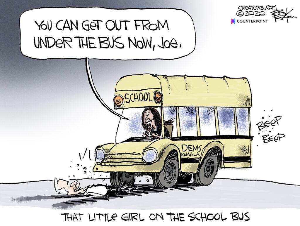 sleepy joe, little girl on the bus