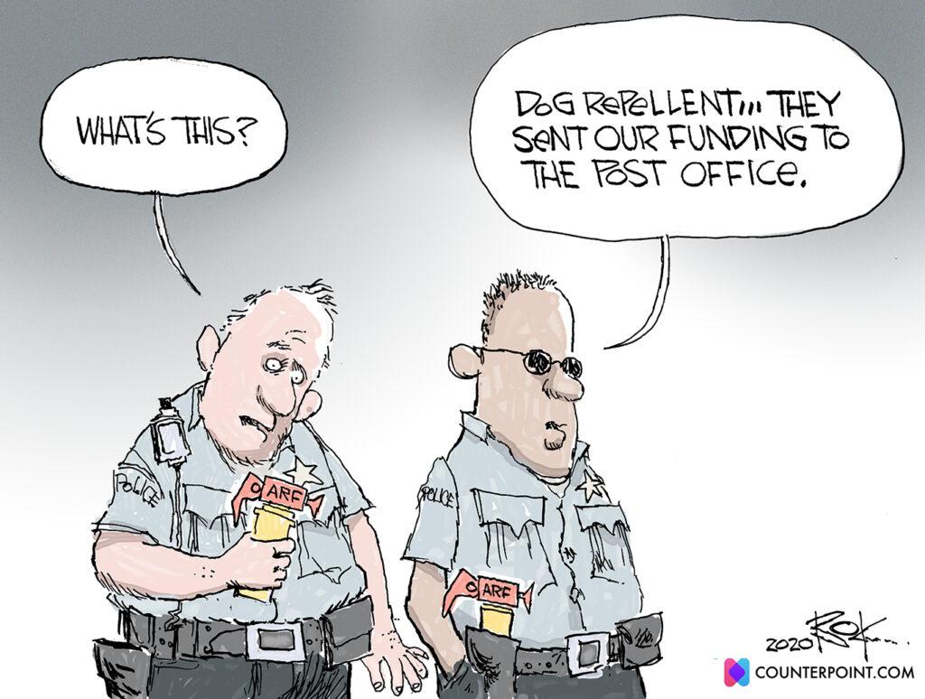 Police, Defunding