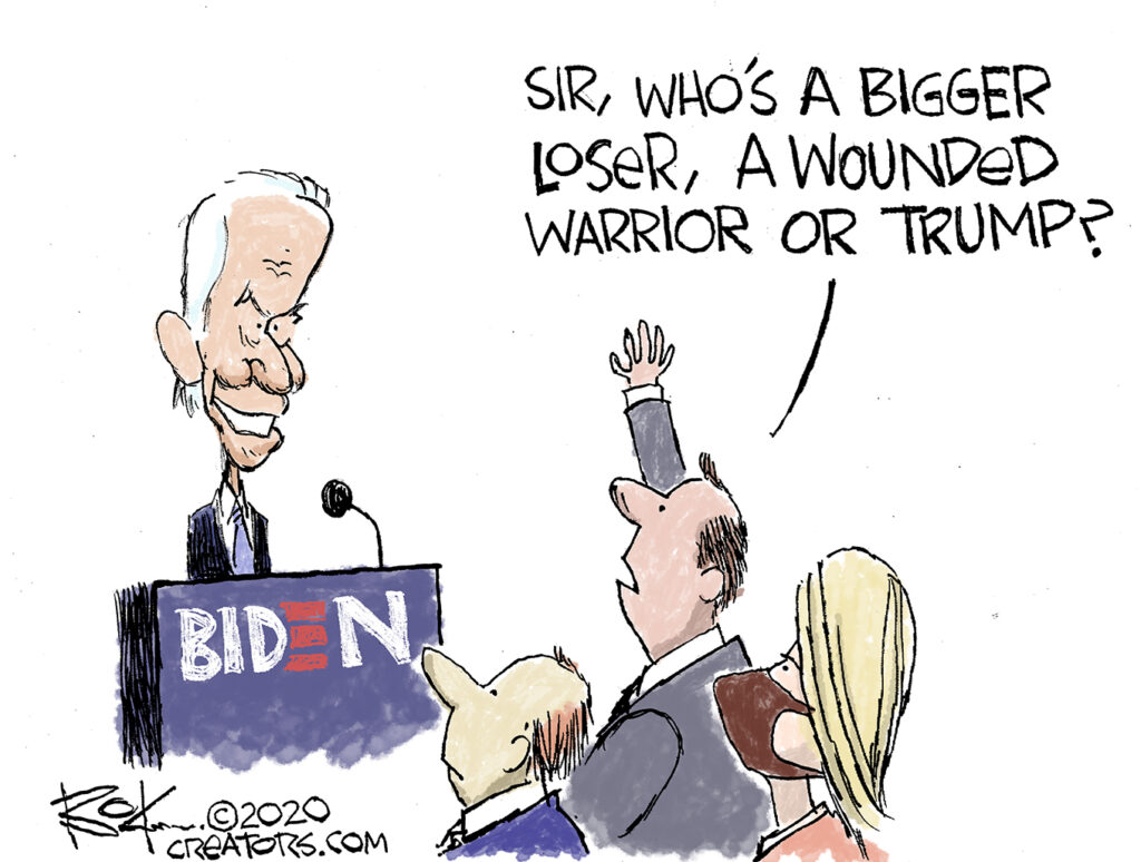 reporters grilled joe biden
