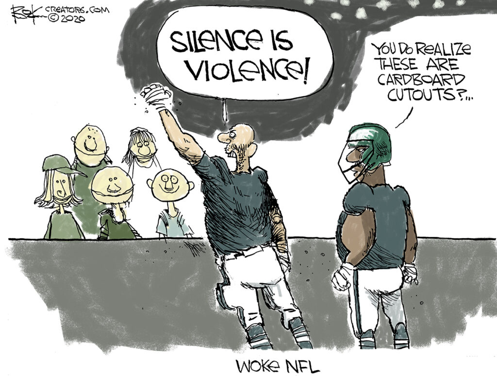 woke NFL player platform