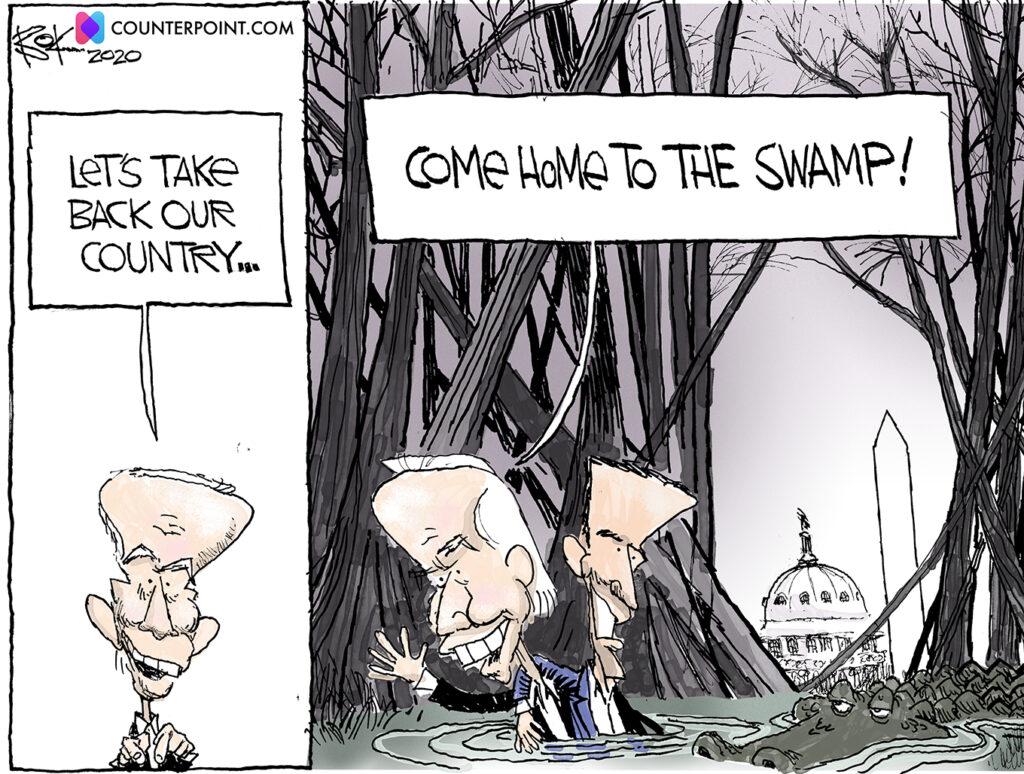Biden family, swamp, home
