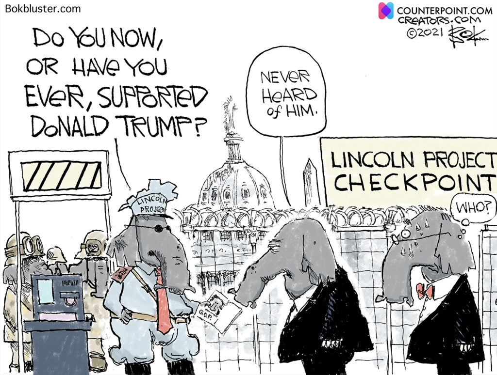 Have you ever supported Donald Trump?, Lincoln project