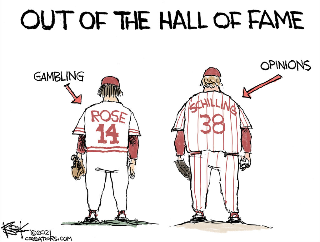 Curt Schilling, baseball hall of fame
