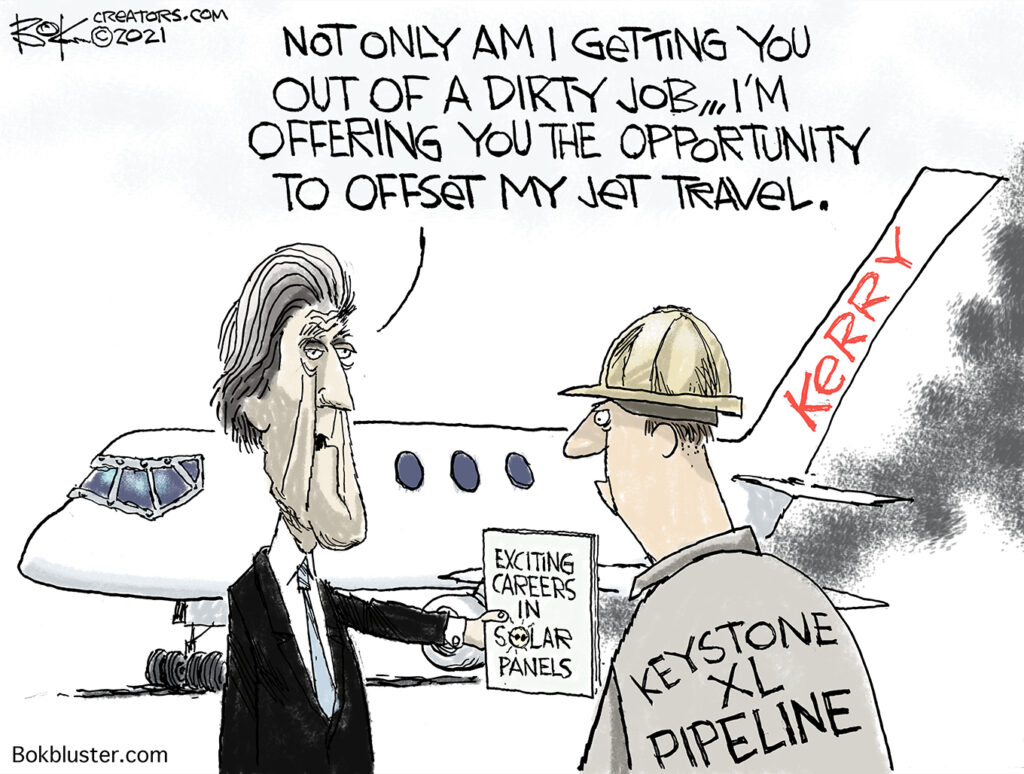 John Kerry baffled, keystone pipeline, workers, solar panels