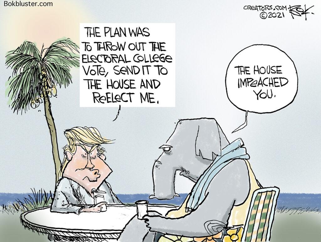 successful insurrection, electoral college, House, impeachment