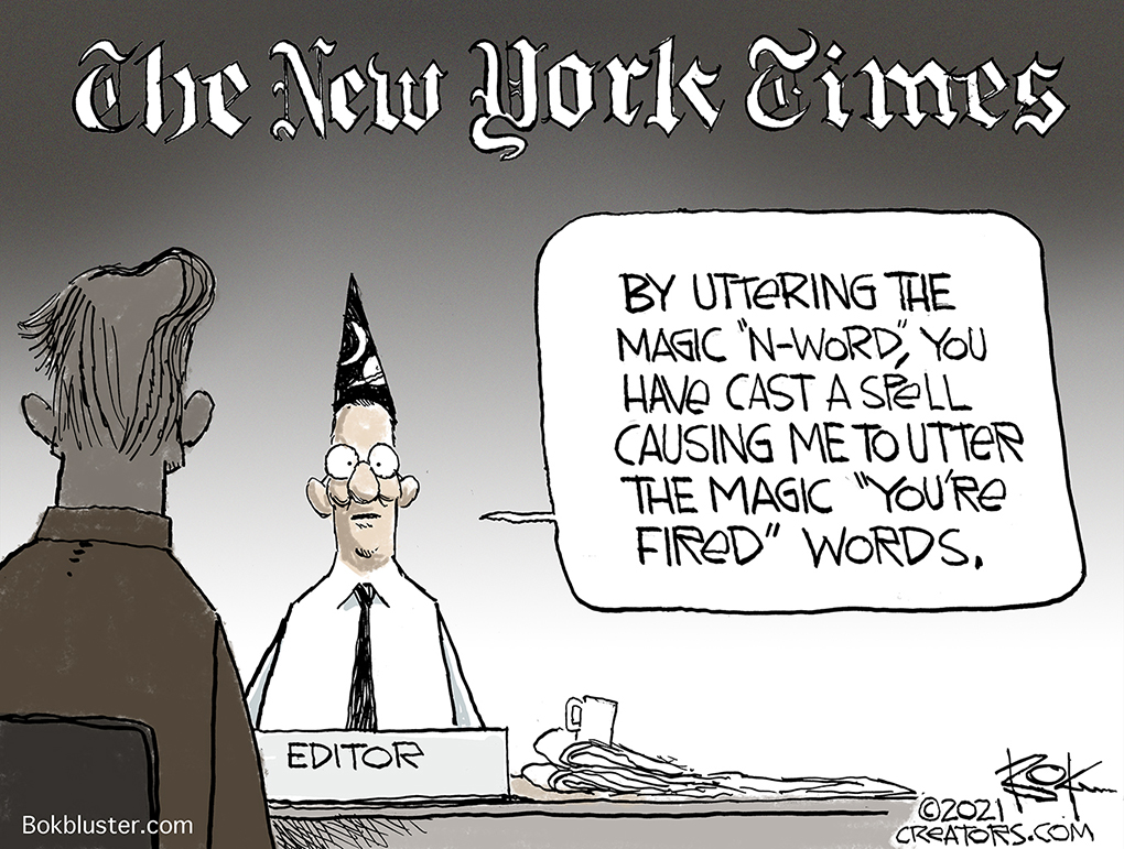 n-word, New York Times
