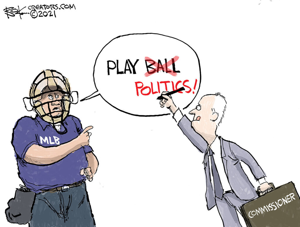 national pastime is politics