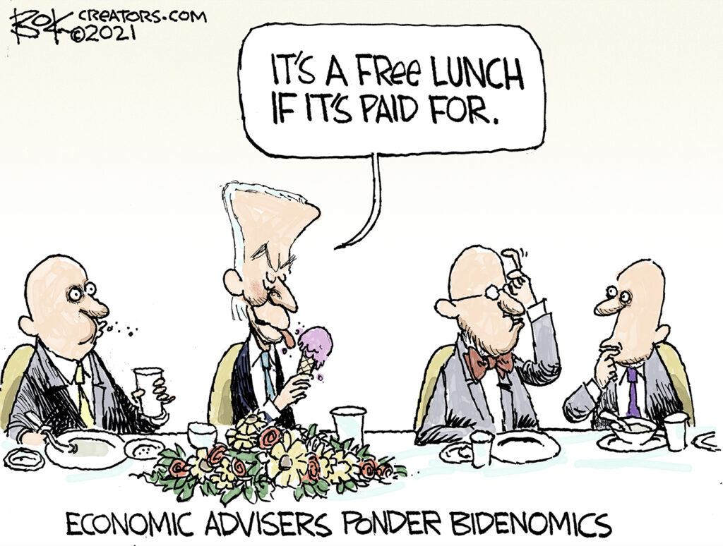 No free lunch, Biden says his $3.5 trillion plan costs nothing,
